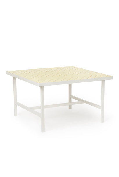 Herringbone Tile Coffee Table