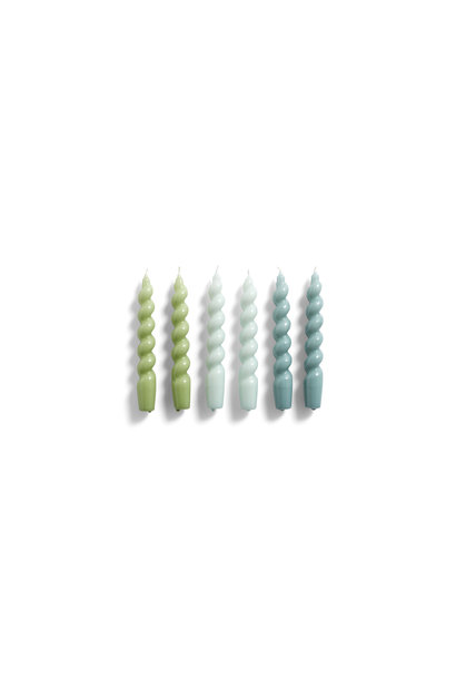 Candle Spiral 6 pcs