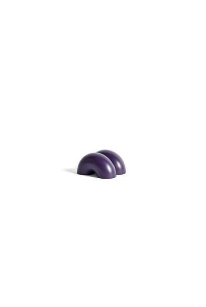 W&S Doorstop Double donut Purple