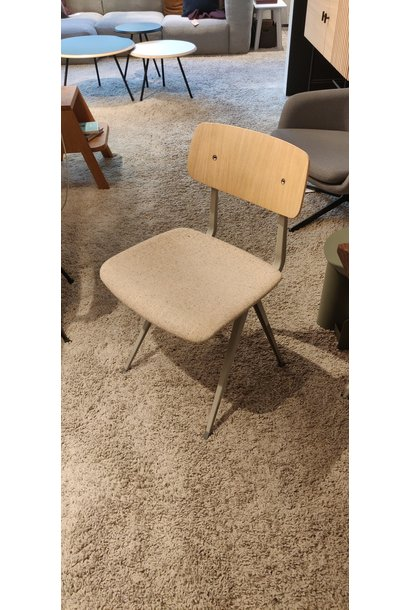 4 x Result chair - upholstered beige steel - matt lacquered - LGG60 Bolgheri