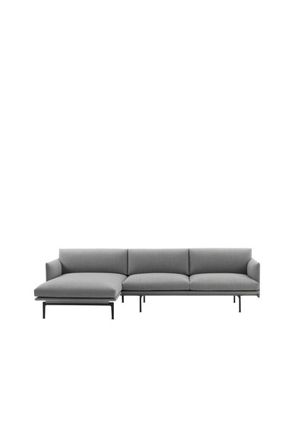 Outline Chaise longue sofa