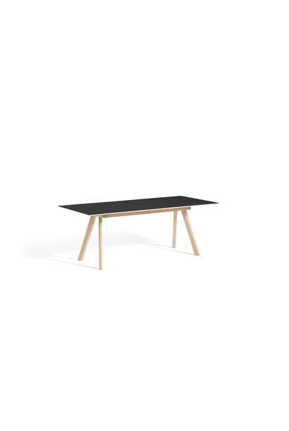 CPH 30 Extendable - Matt lacquered solid oak