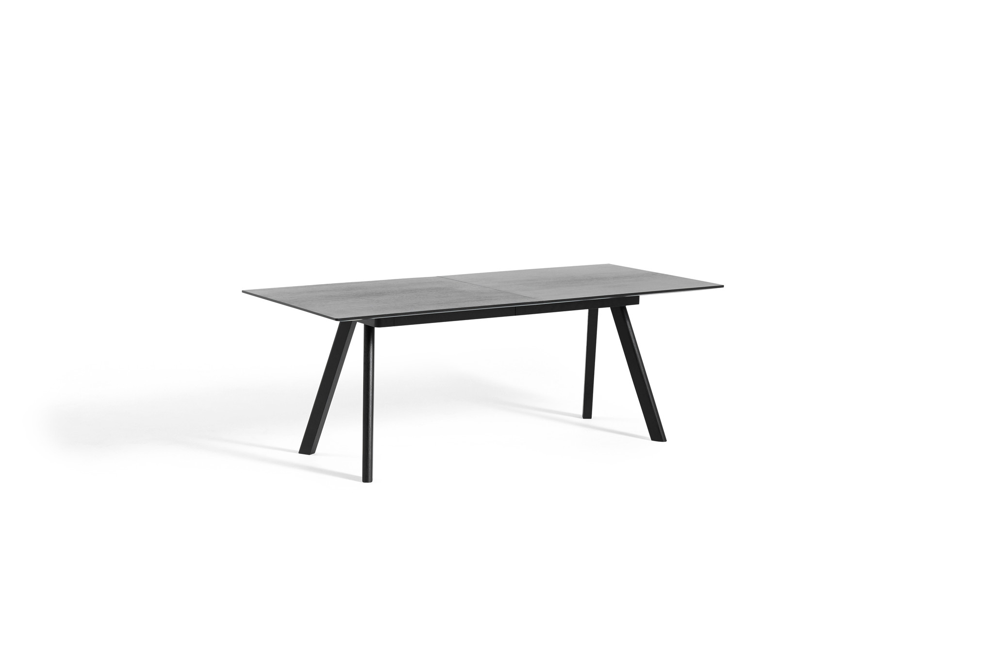 CPH 30 Extendable - Black stained solid oak-3