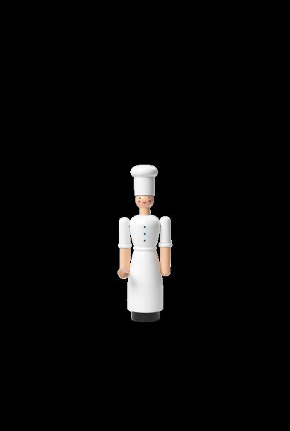 Cook Girl White