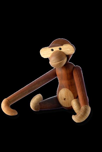 Monkey - Large - 46cm Teak and limba
