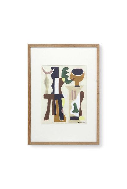 Art frame by Garance Valleé