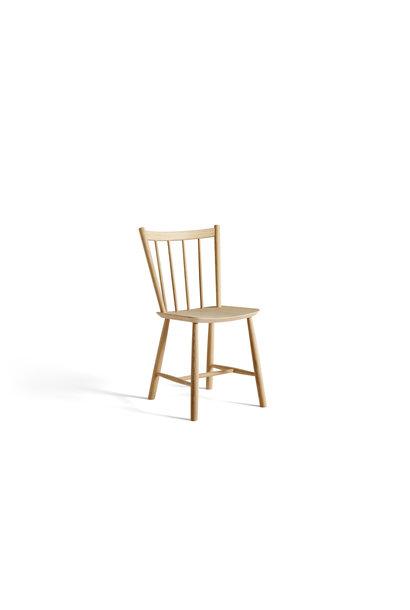 Toonzaalmodel J41 chair matt lacquered oak