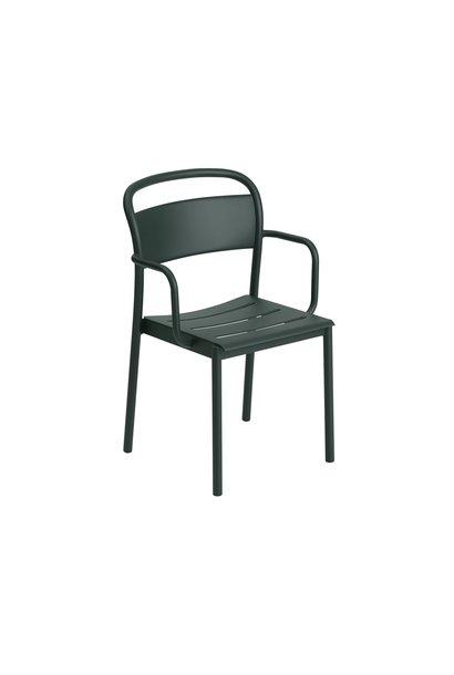 Linear Steel Arm Chair