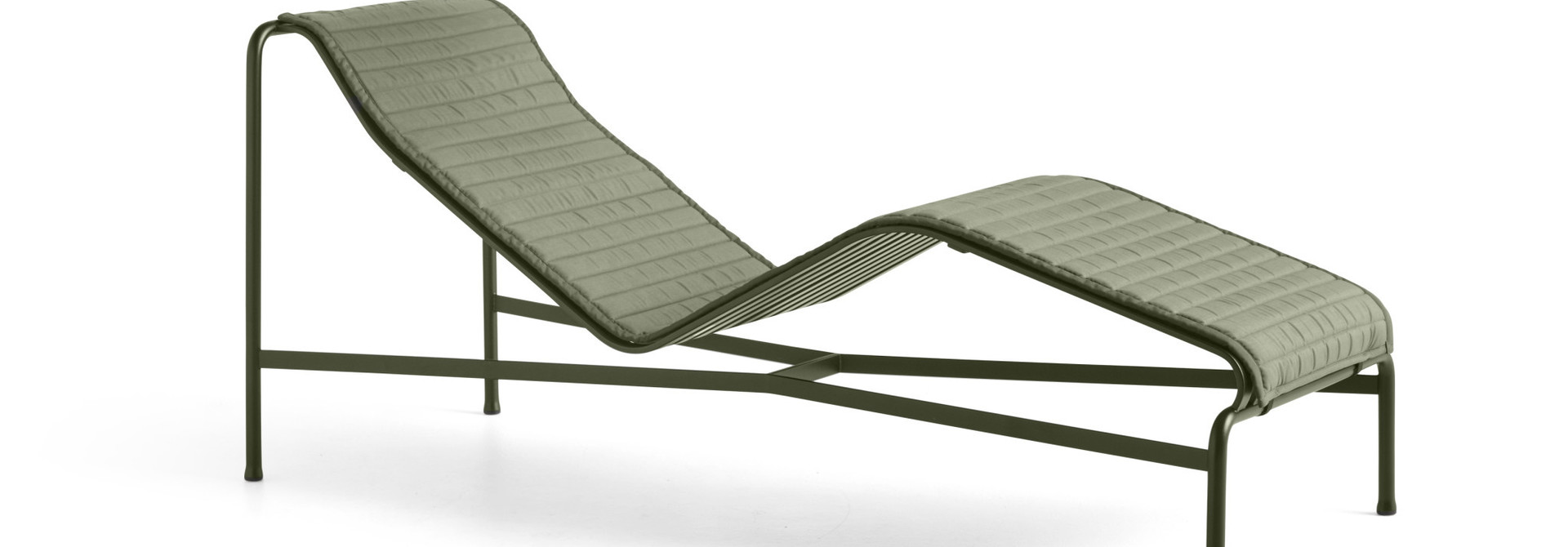 Palissade Chaise longue Quilted cushion