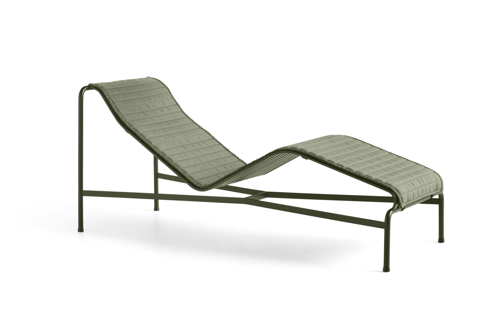 Palissade Chaise longue Quilted cushion-1