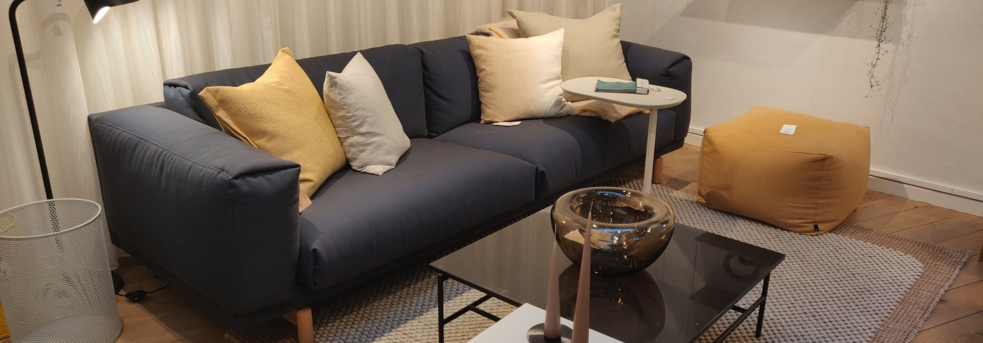 Toonzaalmodel Rest sofa - 3-seater - Steelcut trio3 756