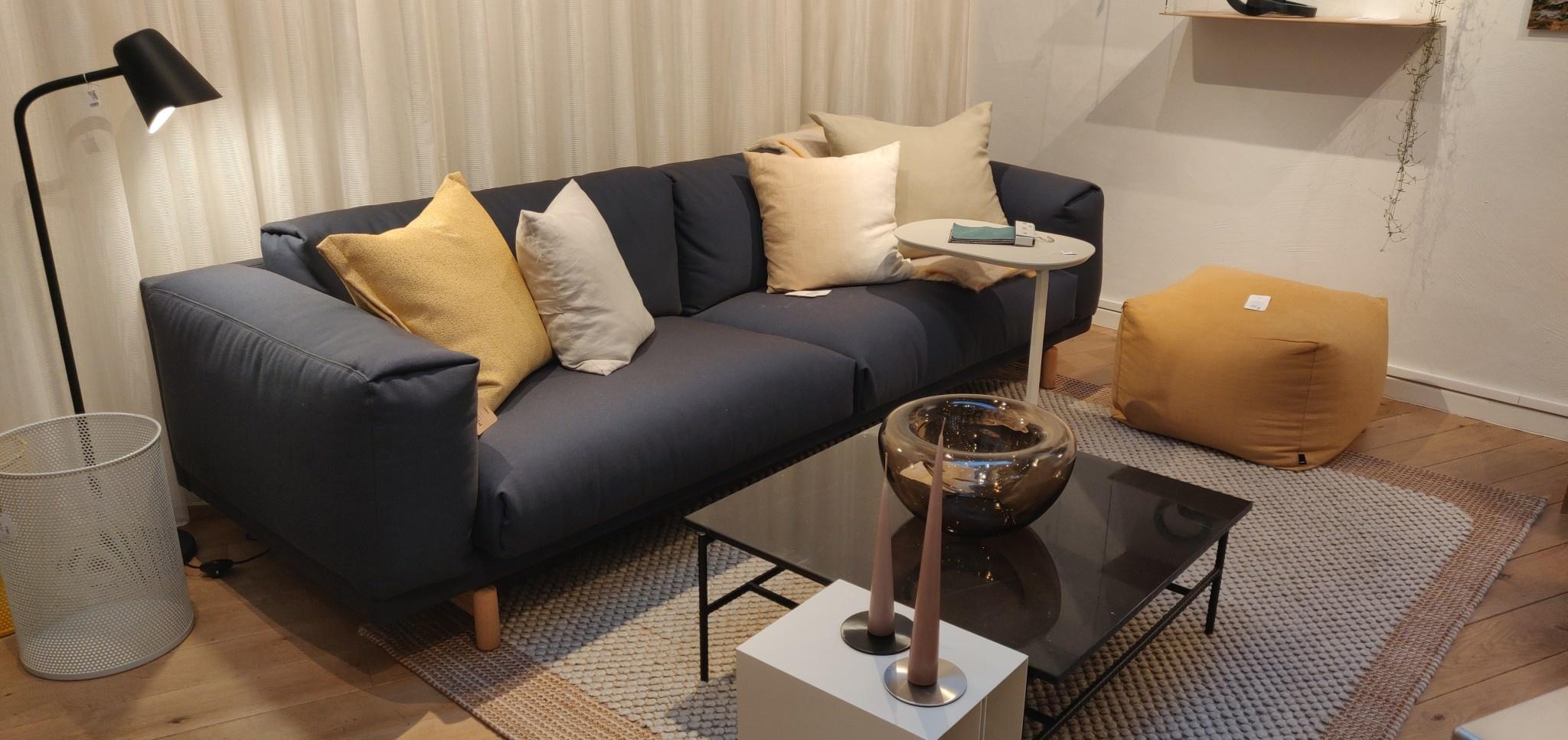 Toonzaalmodel Rest sofa - 3-seater - Steelcut trio3 756-1