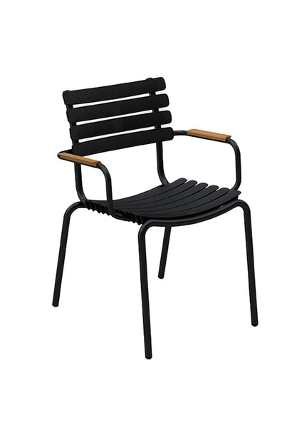ReClips Dining chair - Bamboo armrest