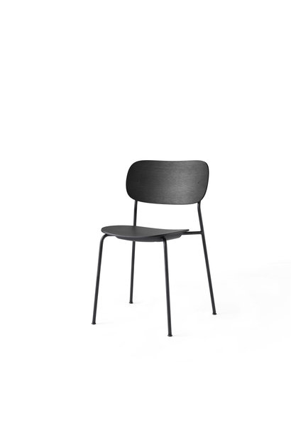 Co Dining Chair - Black powder coated steel