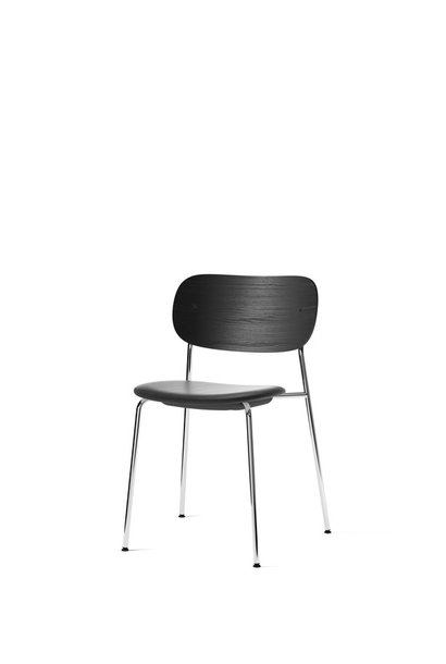 Co Dining Chair - Chrome - seat upholstery