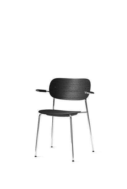 Co Dining Chair armrest - Chrome