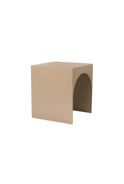 Arch table L Tabacco brown