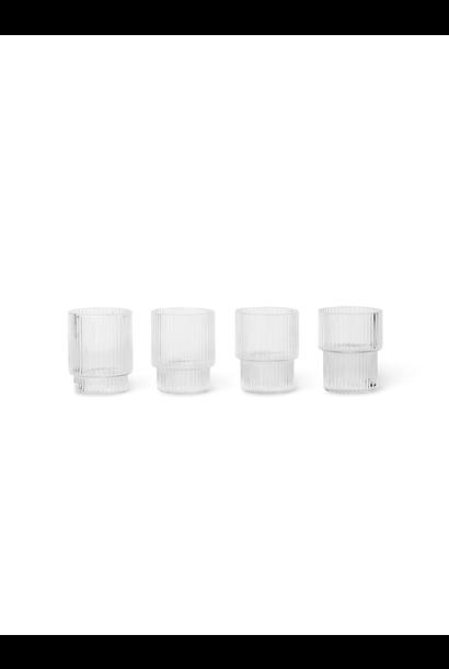 Ripple Glasses (s/4) - Small