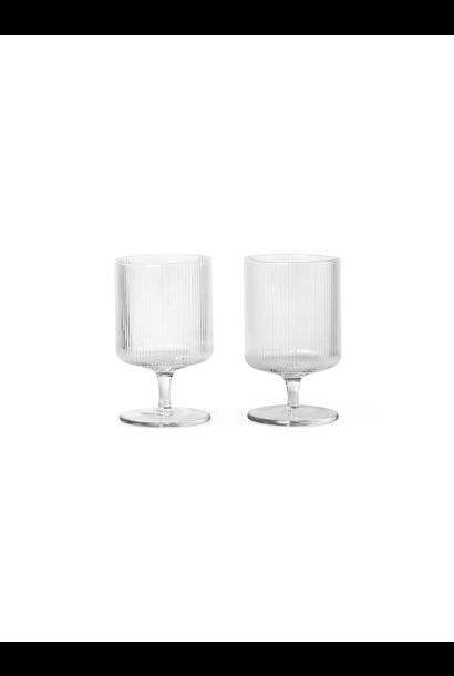 Ripple Wine Glasses (s/2)