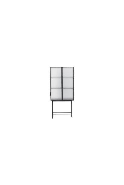 Haze Vitrine - Wired glass