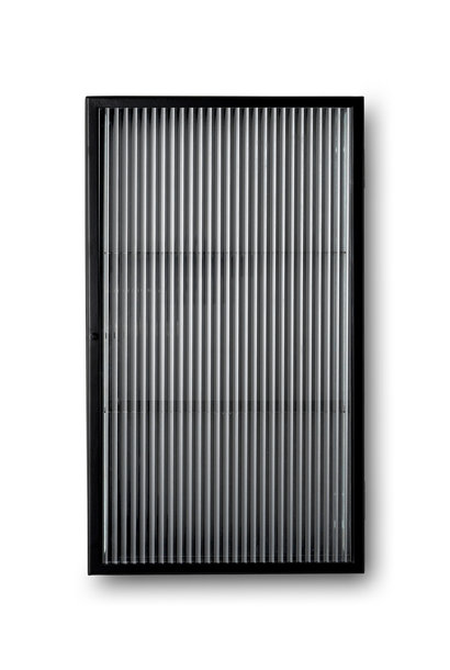 Haze Wall Cabinet - Reeded glass