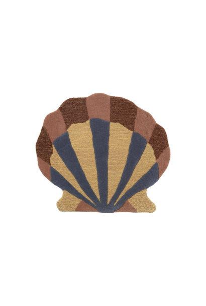Shell Tufted Wall/Floor Deco - Multi