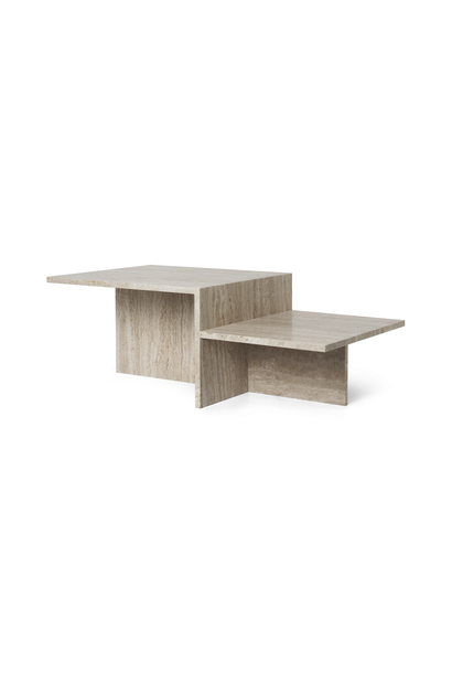 Distinct Coffee Table - Travertine
