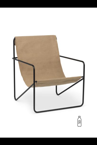 Desert Lounge Chair - Black/Sand