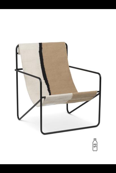 Desert Lounge Chair - Black/Soil