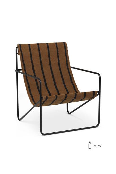 Desert Lounge Chair - Black/Stripe