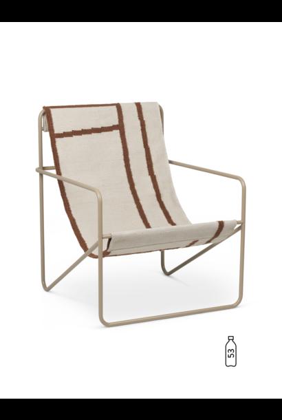 Desert Lounge Chair - Cashmere/Shape