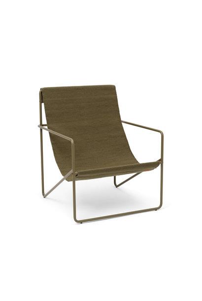 Desert Lounge Chair - Olive/Olive