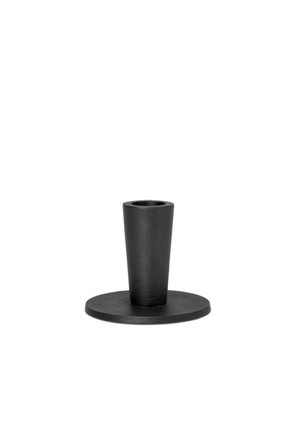 Hoy Casted Candle Holder - Low