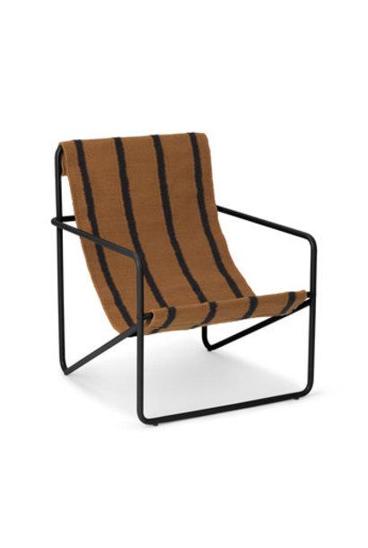 Desert Kids Chair - Black/Stripe