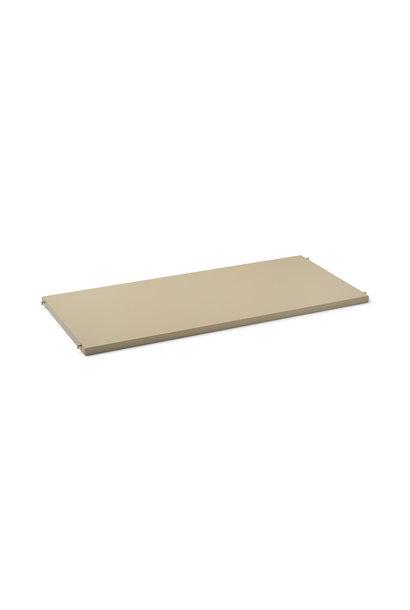 Punctual Solid Metal Shelf