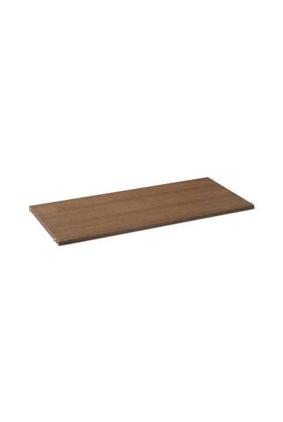 Punctual Wooden Shelf - Smoked oak