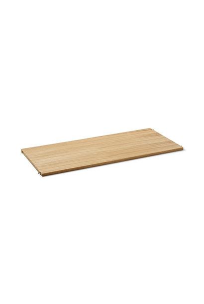 Punctual Wooden Shelf - Natural oak