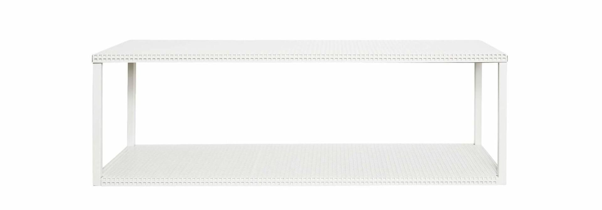 Toonzaalmodel Grid Wall Shelf  White