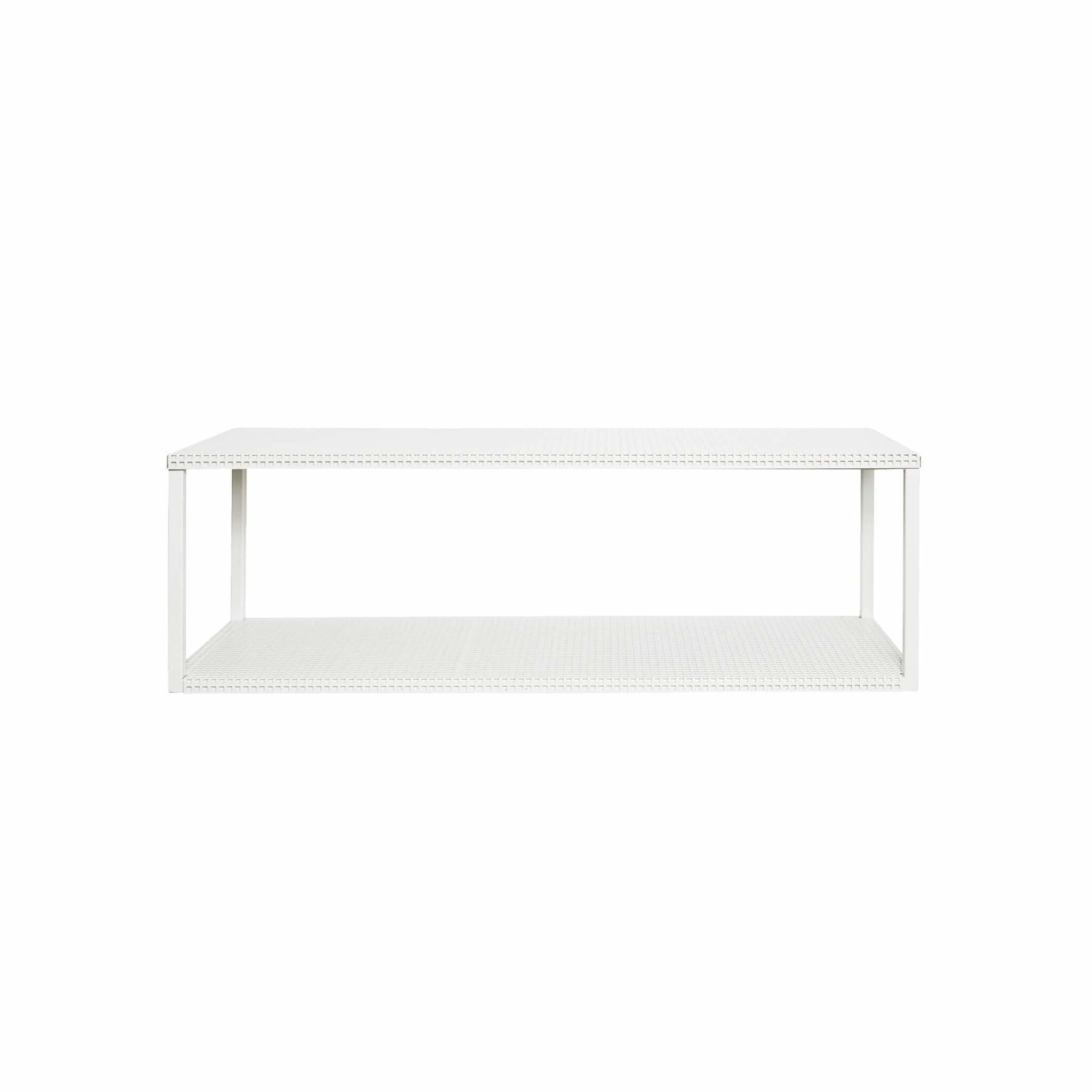 Toonzaalmodel Grid Wall Shelf  White-1