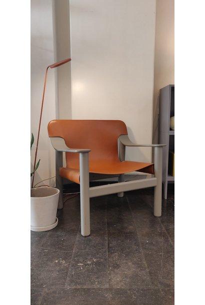 Toonzaalmodel Bernard Beige grey solid beech - Brandy seat