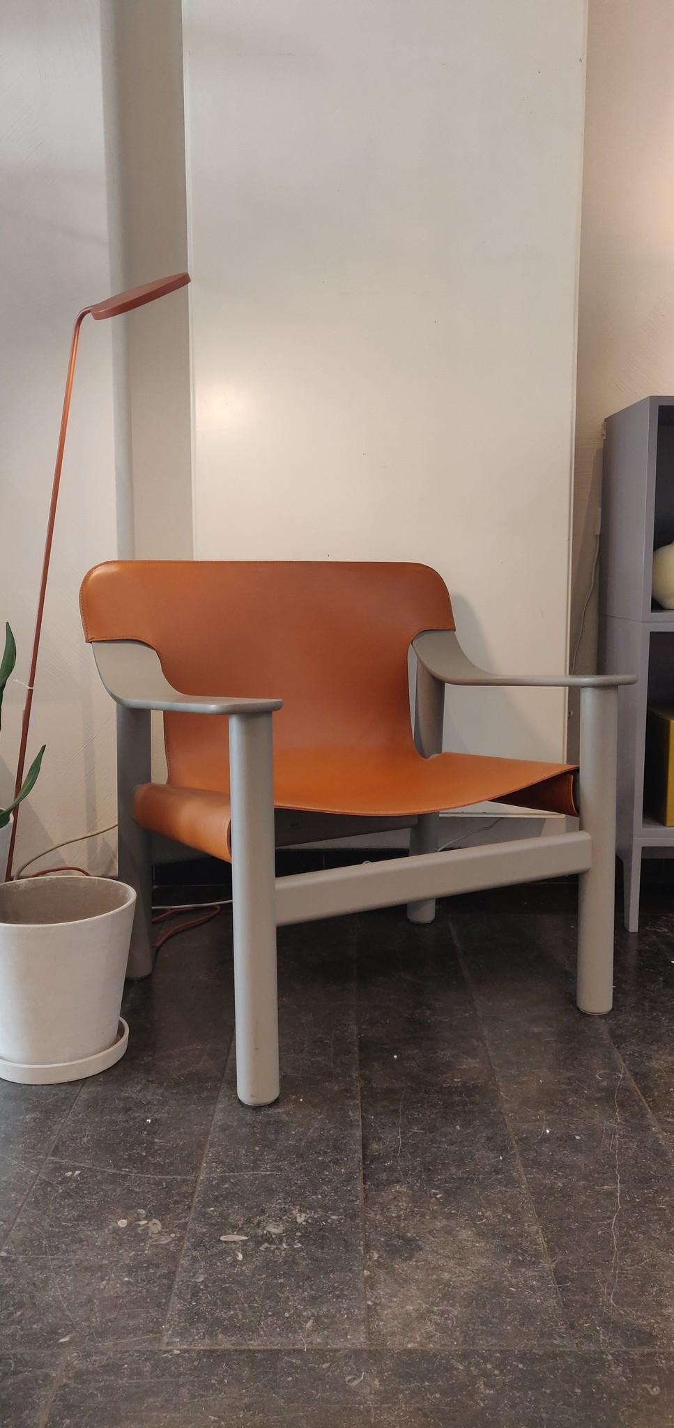 Toonzaalmodel Bernard Beige grey solid beech - Brandy seat-1