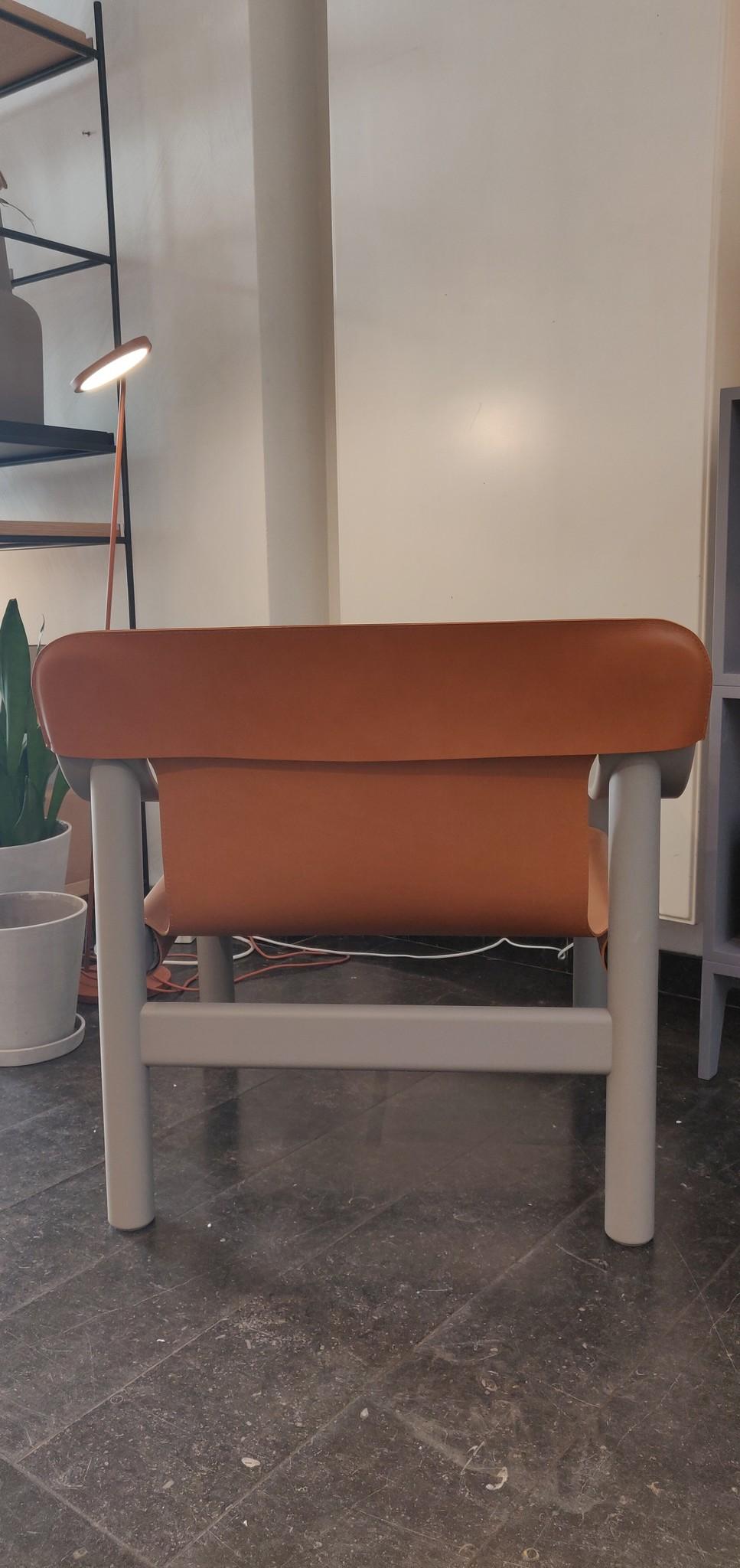 Toonzaalmodel Bernard Beige grey solid beech - Brandy seat-3