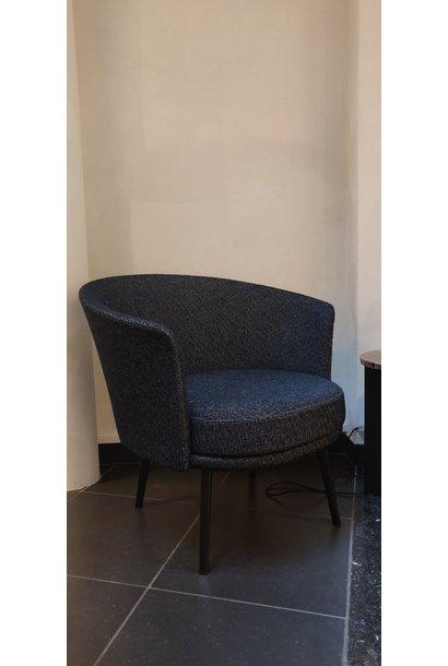 Toonzaalmodel Dorso BLACK POWDER COATED STEEL - FAIRWAY DARK BLUE 308-288