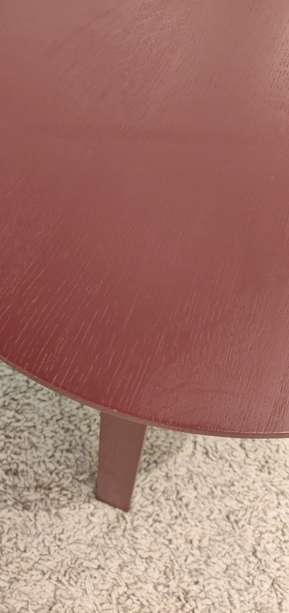 Toonzaalmodel Bella coffee table  Ø45 X H49 dark brick stained oak-2