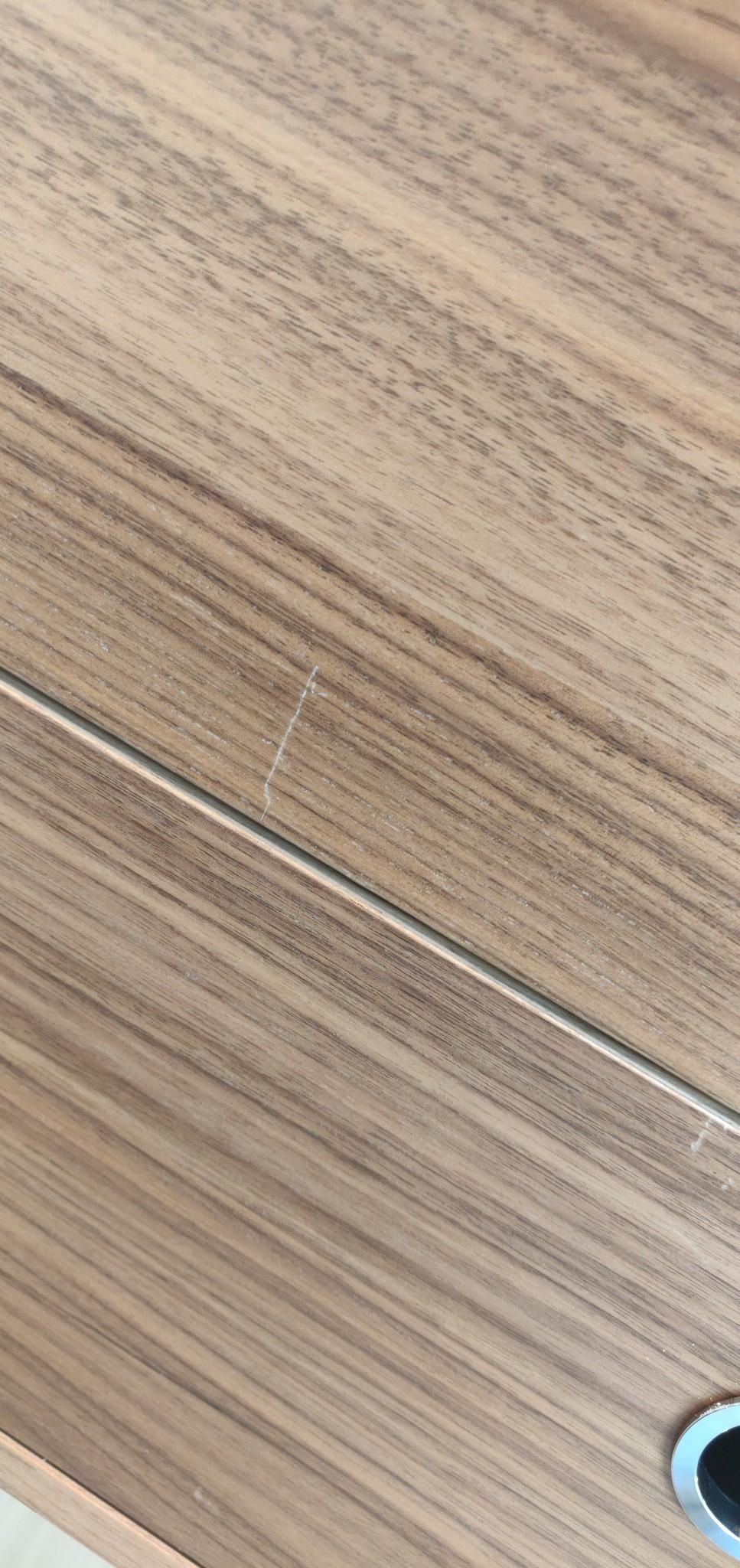 Toonzaalmodel String opstelling walnut / brown-5