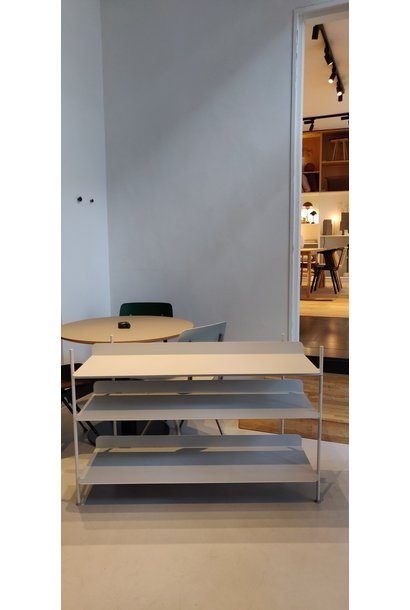 Toonzaalmodel Compile Shelving System Config. 2 - Light grey (50061)
