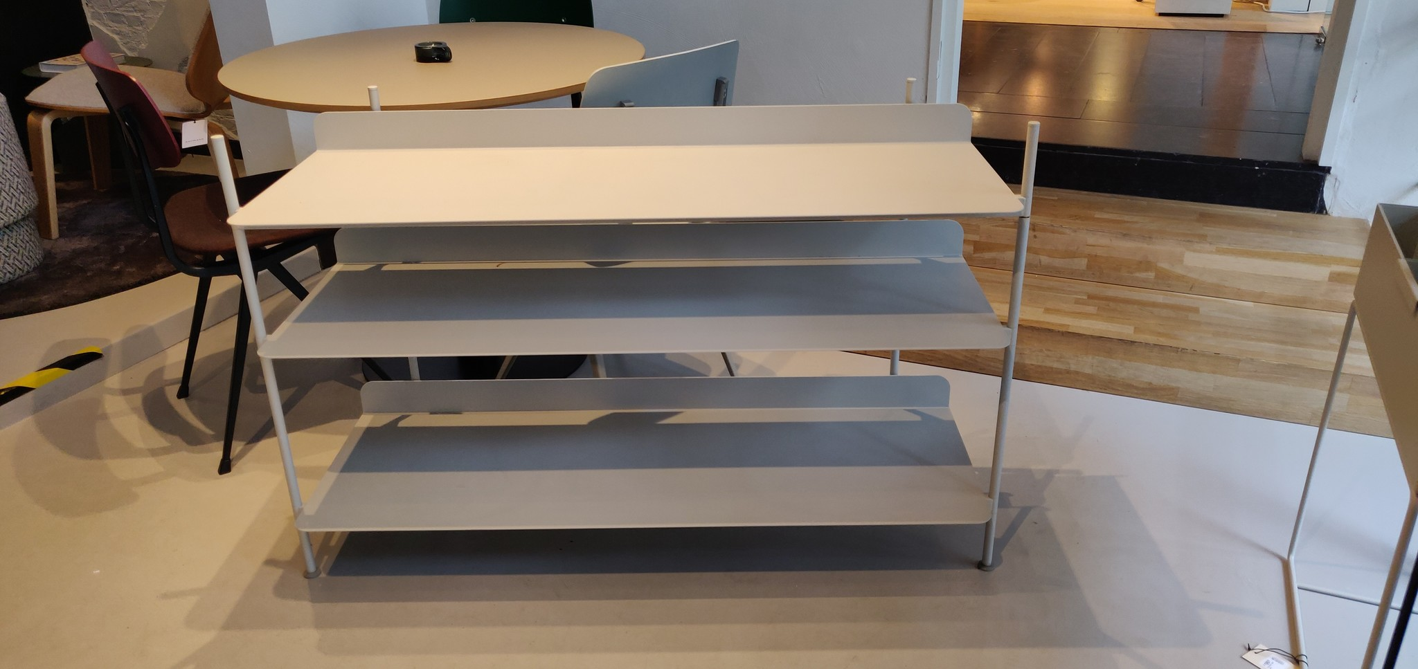 Toonzaalmodel Compile Shelving System Config. 2 - Light grey (50061)-4