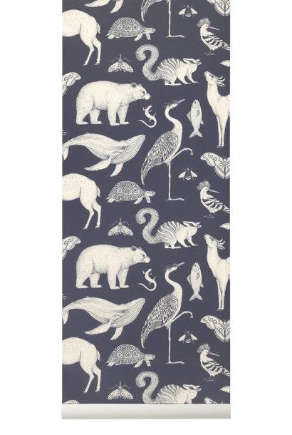 Animals Wallpaper Blue