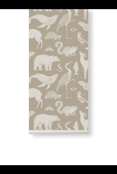 Animals Wallpaper Sand