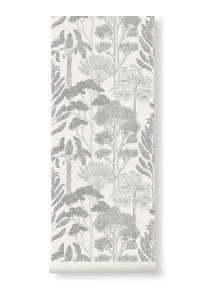 Trees Wallpaper Off-White